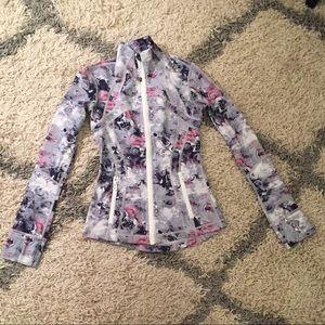 Lululemon define jacket floral print